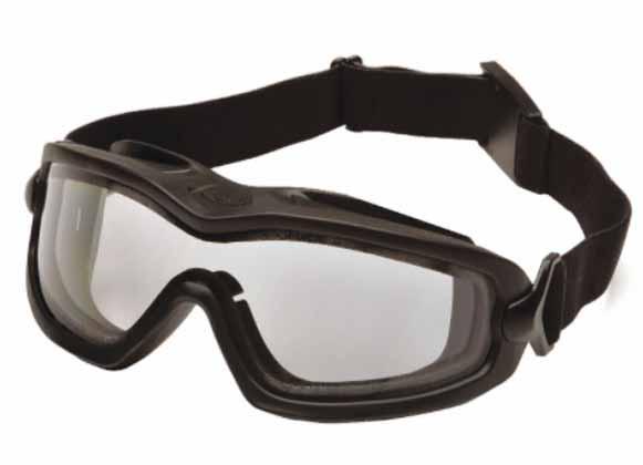 Dual-pane goggles