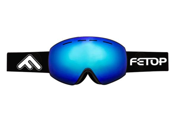 REVO coated ski goggles