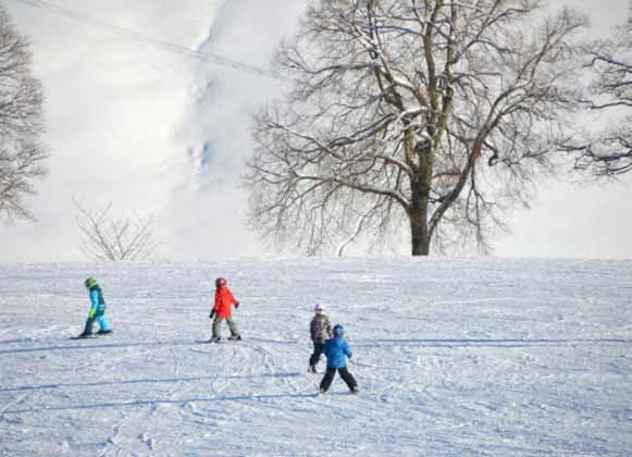Skiing in Groups