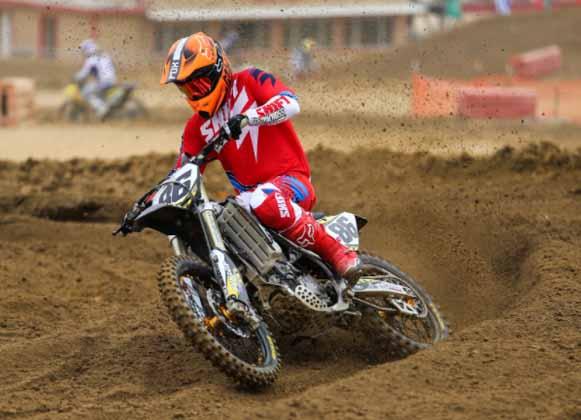 A Motocross Rider