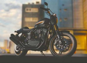 A Motorcycle