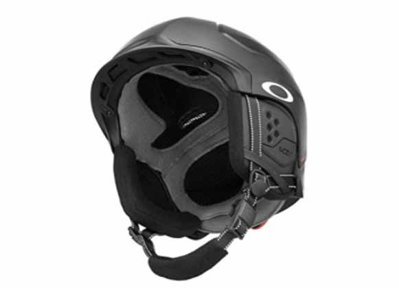 Lightweight-design black helmet