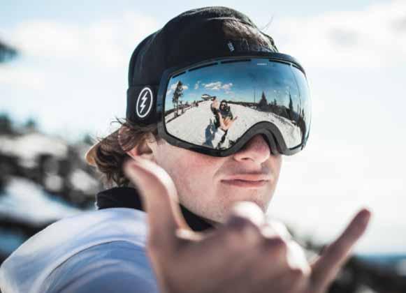 Ski Goggles in Action