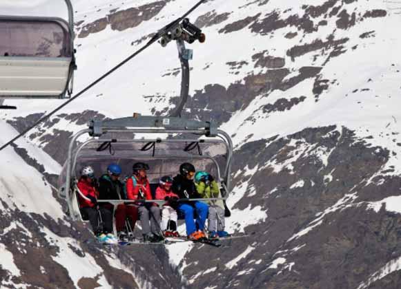 A Ski Gondola