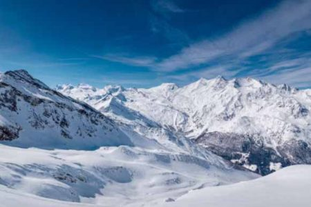 Saas-Fee Ski Resort